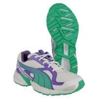 Puma Axis Mesh V2 Trainers Childrens Sports Purple / Green